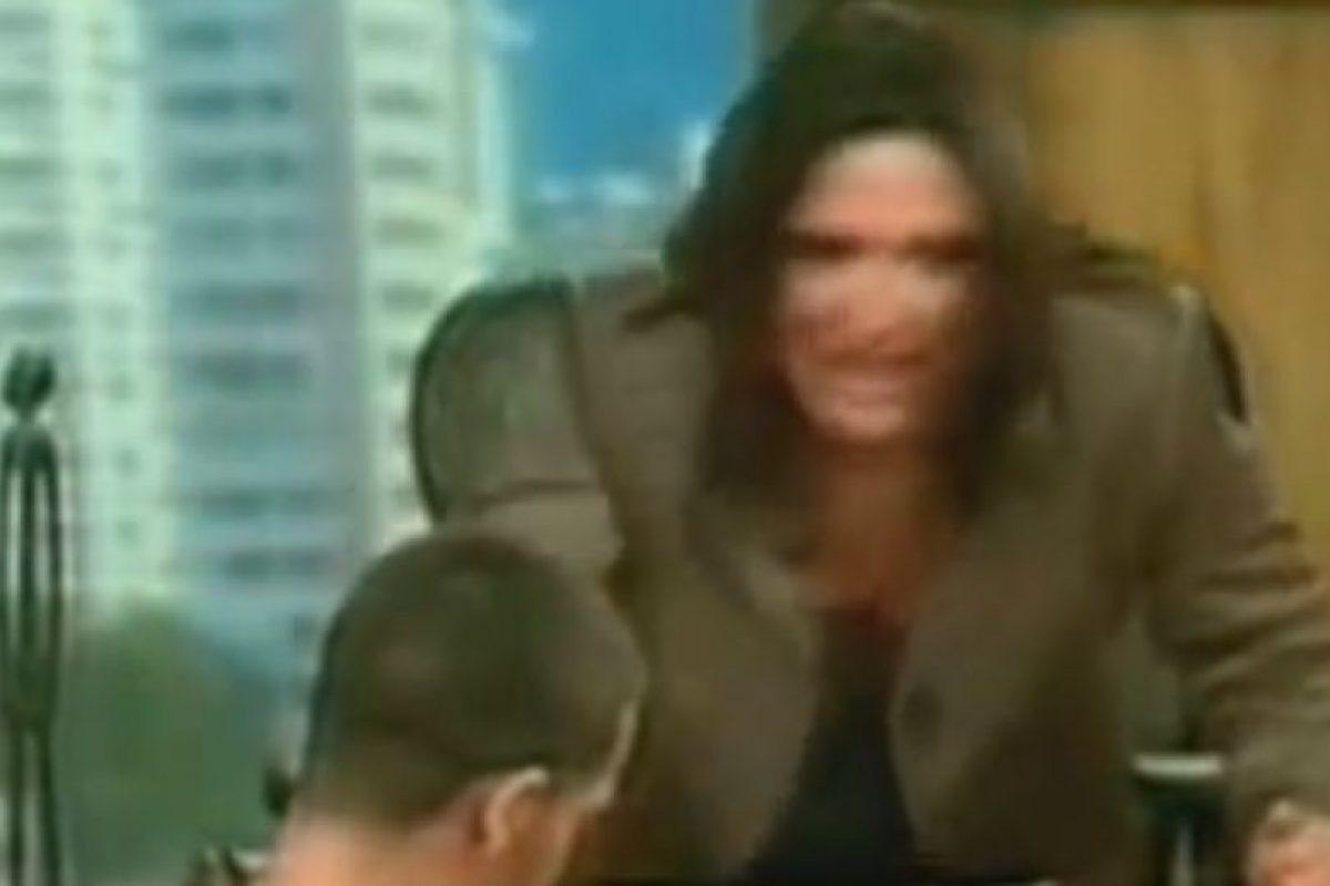 Lo insulta. Foto:Telemundo. Imagen Por: