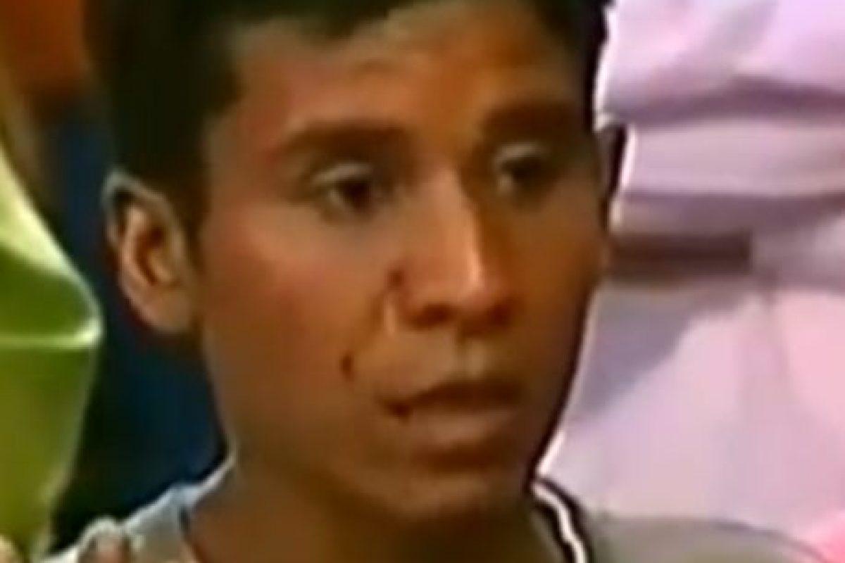 Este hombre golpea a su mujer. Foto:Telemundo. Imagen Por: