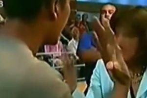 Ana María lo confronta por ello. Foto:Telemundo. Imagen Por: