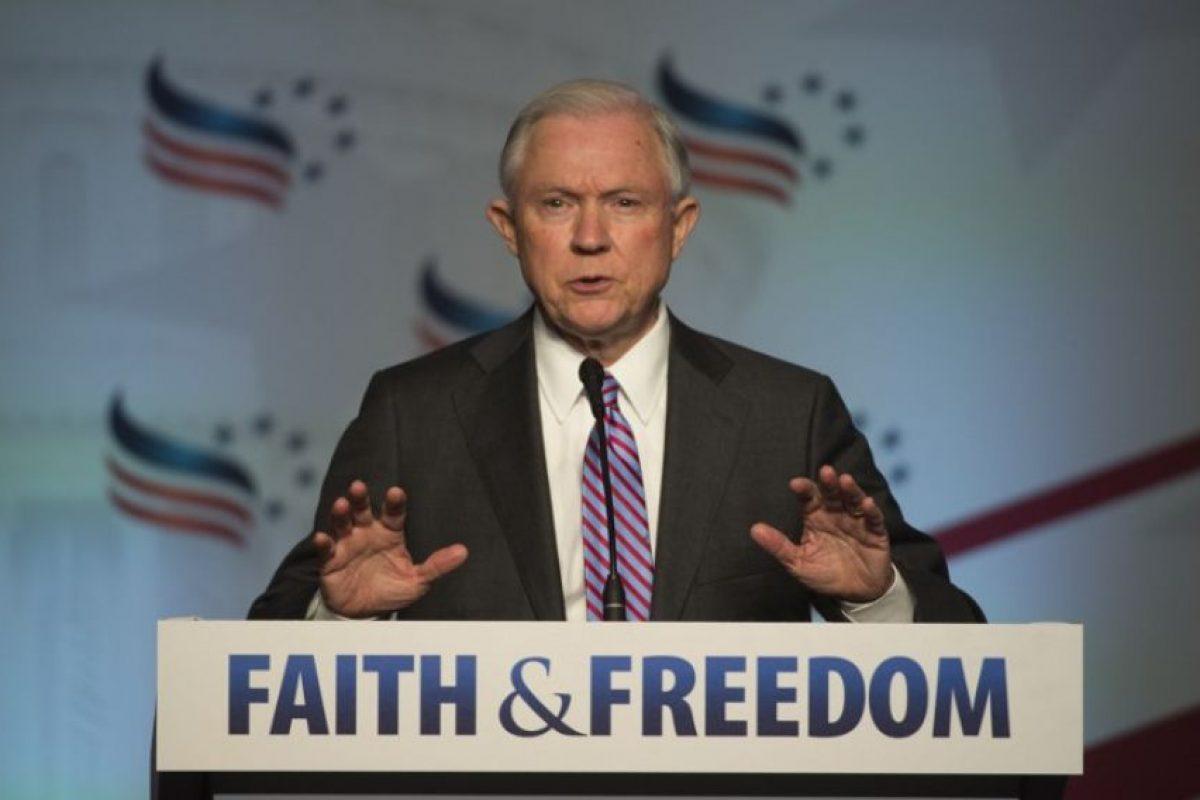 Jeff Sessions, senador por Alabama. Imagen Por: