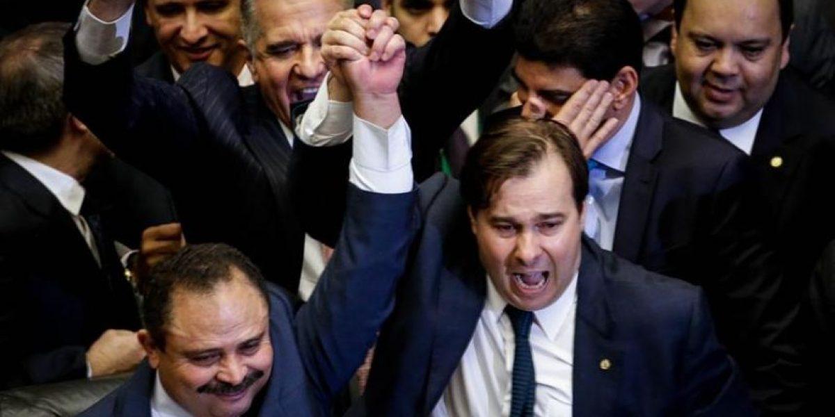Alíado de Temer asume como nuevo presidente de la Cámara de Diputados en Brasil