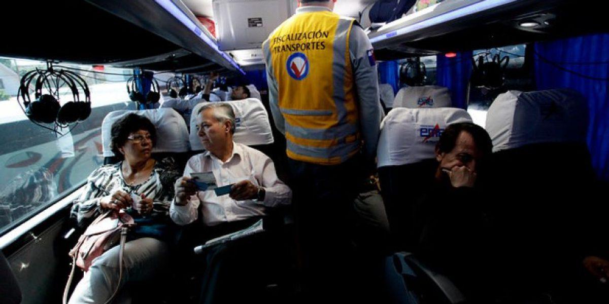 Conoce a las empresas de buses interurbanos más infraccionadas en 2016