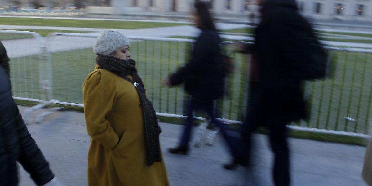 Meteorología anuncia temperaturas bajo cero para el viernes en la Región Metropolitana