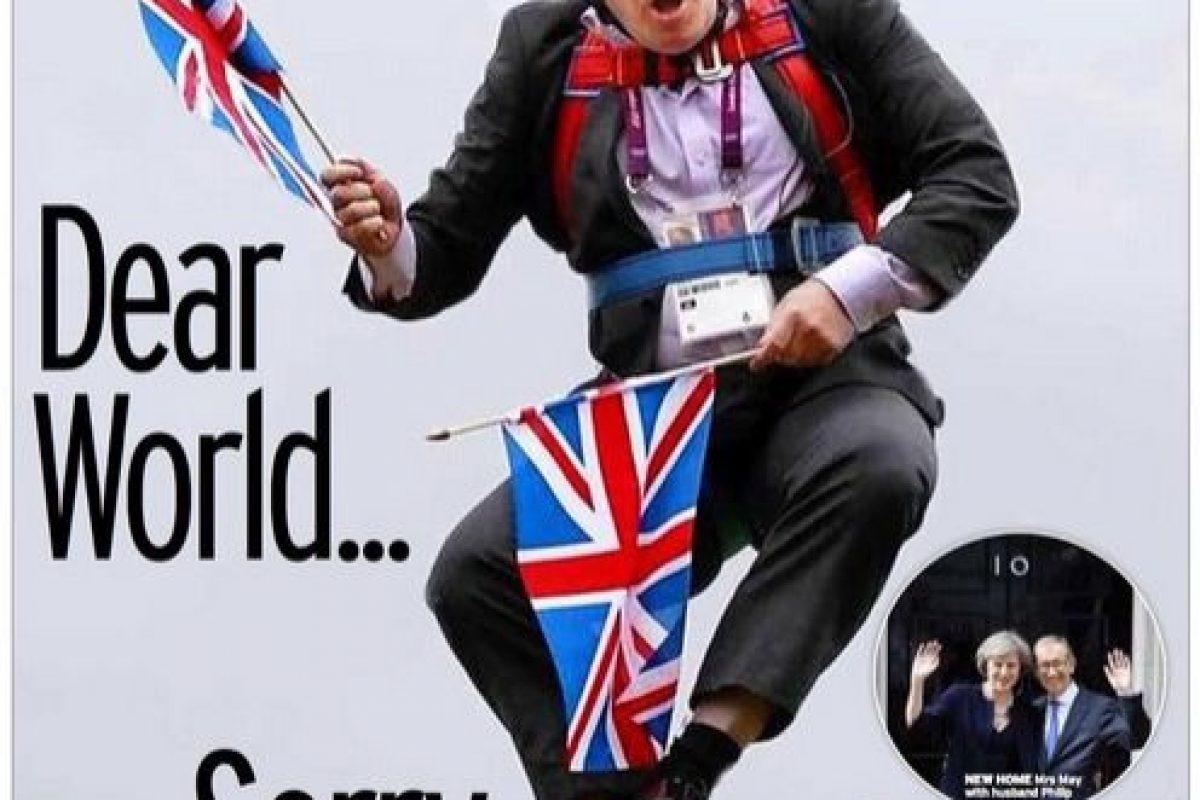 Foto:Portada Daily Mirror. Imagen Por:
