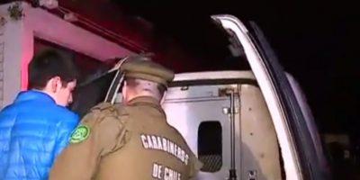 Usando su auto contra Carabineros dos sujetos intentaron evadir control