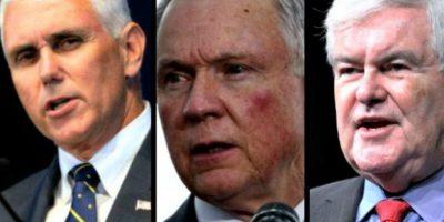 ¿Quiénes son los posibles candidatos a vicepresidente de Trump?