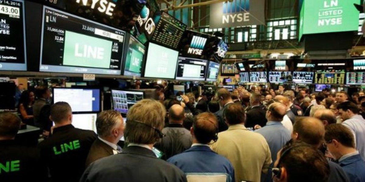 Line recauda más de US$1.100 millones en su debut bursátil en Nueva York