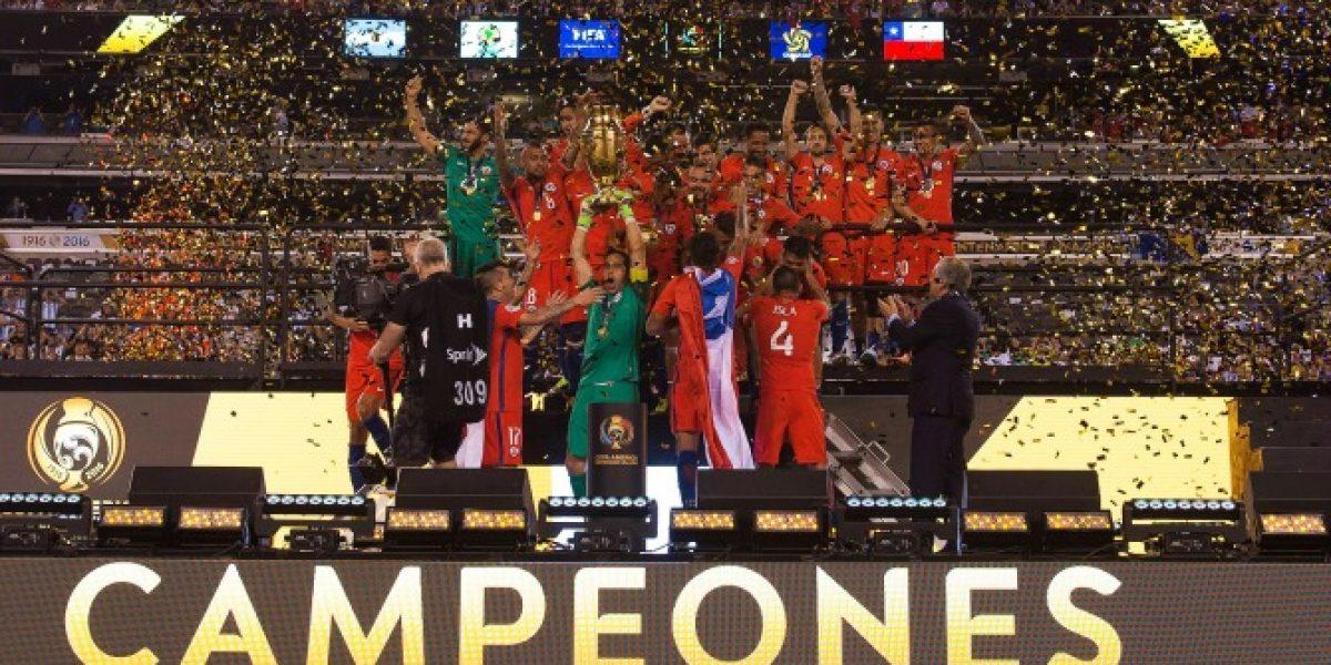 Chile mantuvo su lugar en el ranking FIFA pese a conquistar la Copa América Centenario