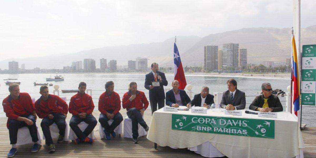 Nicolás Jarry abrirá la serie de Copa Davis ante Colombia en Iquique