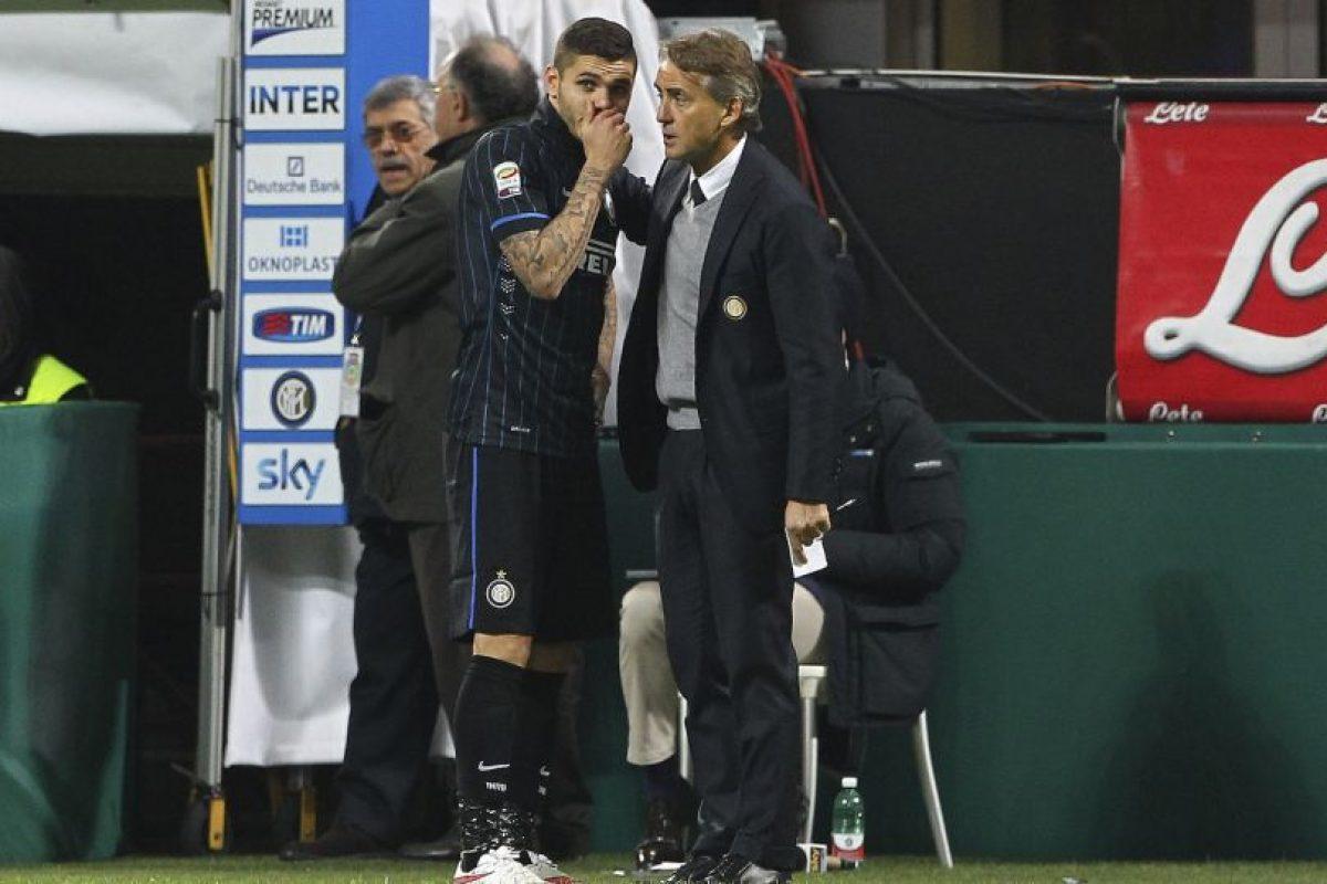 Mauro Icardi fue el gran goleador de Inter de Milán en la temporada 2015/2016 Foto:Getty Images. Imagen Por: