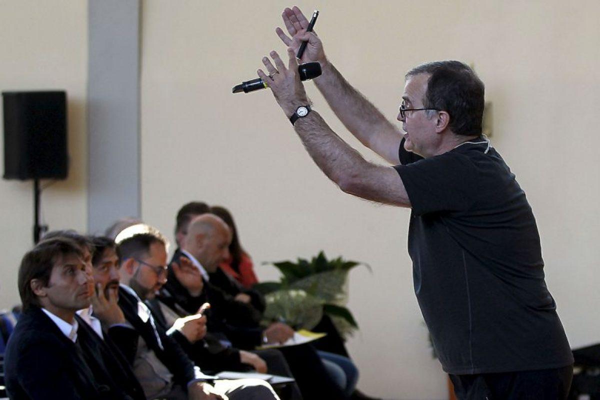 Marcelo Bielsa renunció a los dos días de ser anunciado como técnico de la Lazio Foto:Getty Images. Imagen Por: