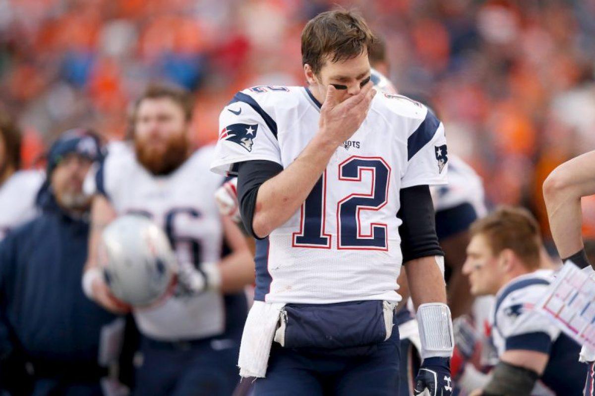 Brady será suspendido los primeros cuatro partidos de la temporada Foto:Getty Images. Imagen Por: