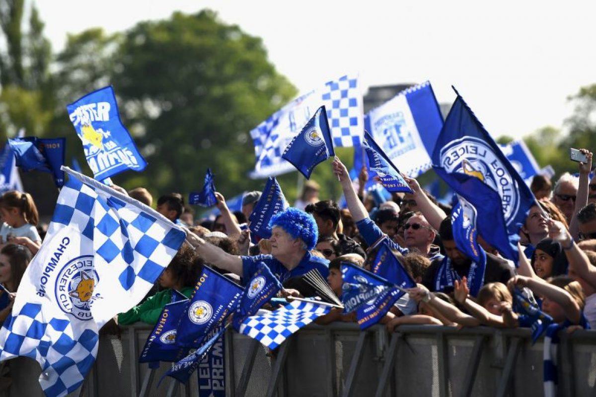 Leicester es campeón de la Premier League Foto:Getty Images. Imagen Por: