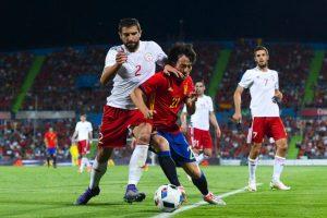 Georgia vence a España en partido amistoso Foto:Getty Images. Imagen Por: