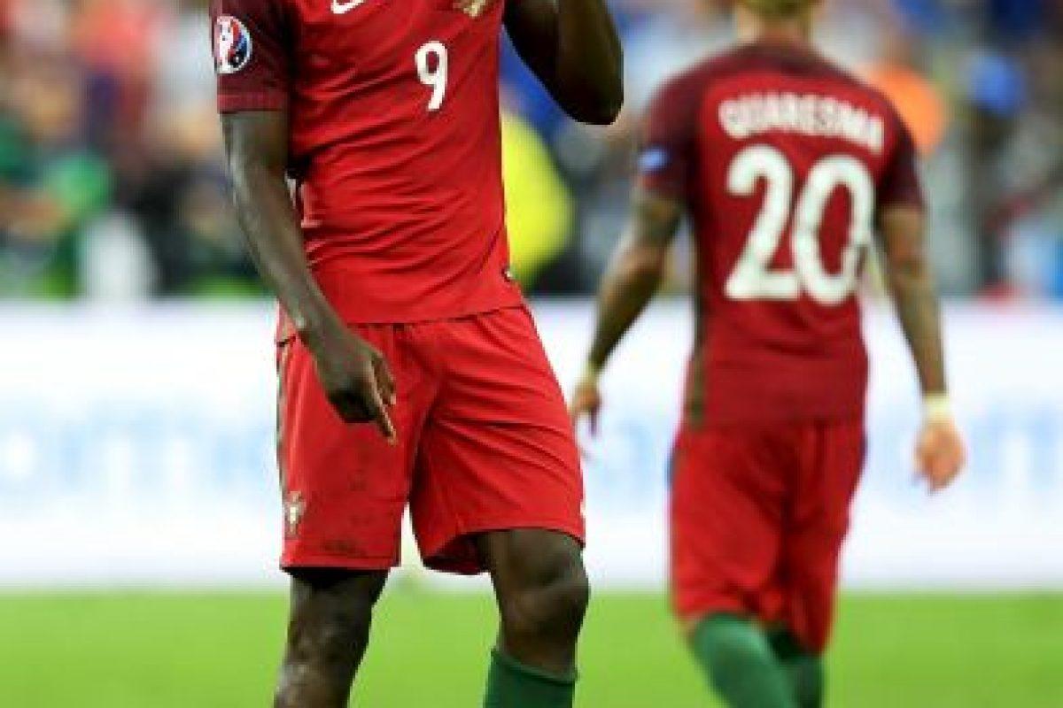 El delantero de 29 años marcó un golazo para darle el título a Portugal Foto:Getty Images. Imagen Por: