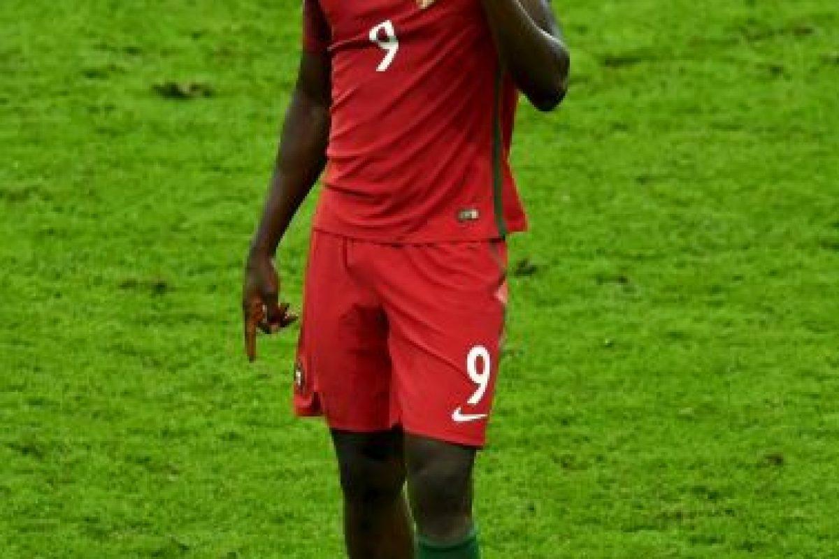 Luego de ser el héroe de Portugal, Eder se dio a conocer en el fútbol Foto:Getty Images. Imagen Por: