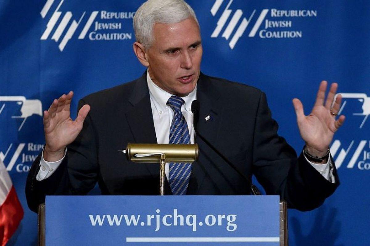 Mike Pence, gobernador de Indiana Foto:AFP. Imagen Por: