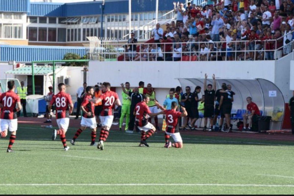 El equipo de Gibraltar vence al Celtic Foto:Twitter. Imagen Por: