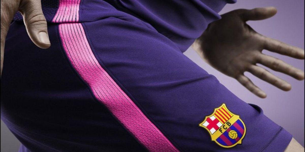 La innovadora segunda camiseta de Barcelona