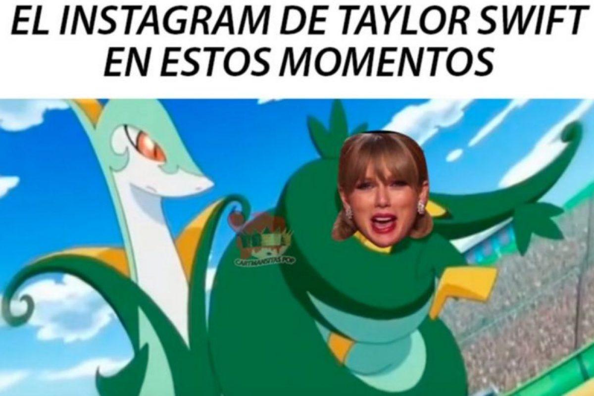 Y porque están llenando de serpientes su Instagram. Foto:vía Twitter. Imagen Por:
