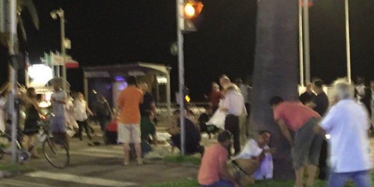 Las fuertes imágenes que se vivieron en la noche de Niza