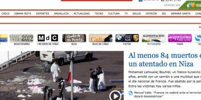 El insólito error en la portada de diario español tras ataque en Niza