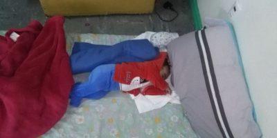 Polémica por bebé de 4 meses hospitalizado en el suelo en Hospital de Villarrica