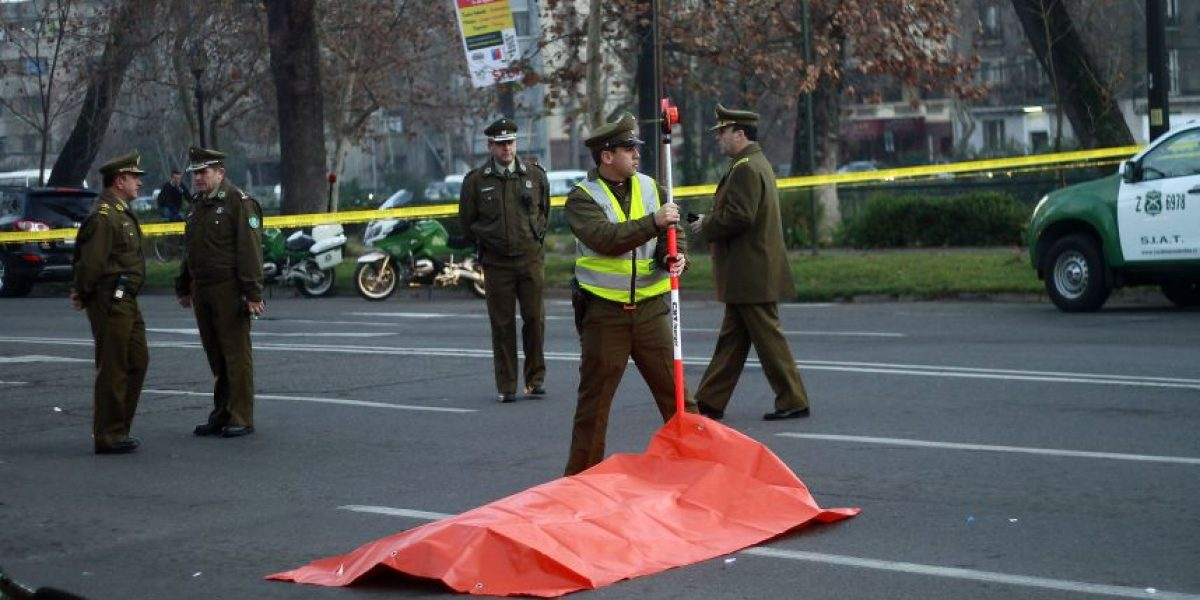 Carabinero que circulaba en bicicleta murió en accidente de tránsito