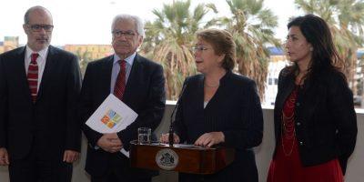 Bachelet y visita de autoridades bolivianas a Arica: es de carácter