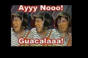 """Este gesto de """"El Chavo"""". Foto:vía Twitter. Imagen Por:"""