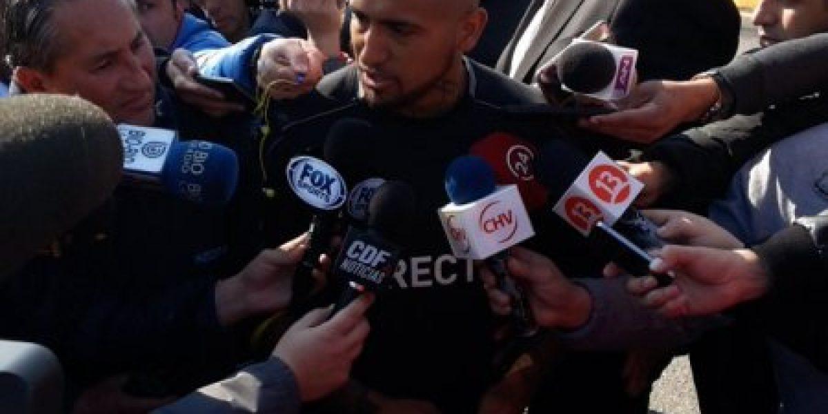 Arturo Vidal y la llegada de Guede a Colo Colo: