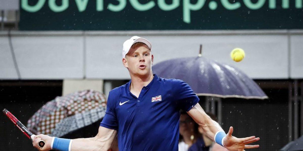 Argentina y Gran Bretaña toman ventaja en los cuartos de final de Copa Davis