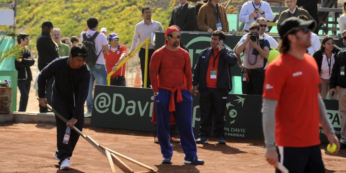 El martes es la fecha límite para terminar con la serie entre Chile y Colombia por la Davis