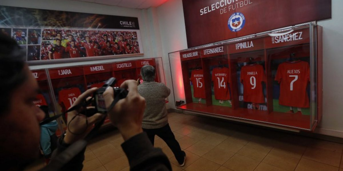El trofeo de la Copa América Centenario será la nueva atracción del Museo de La Roja