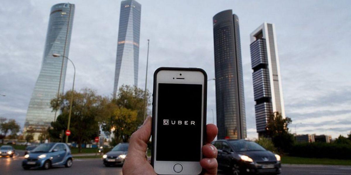 Un hombre robó un banco y escapó en un Uber