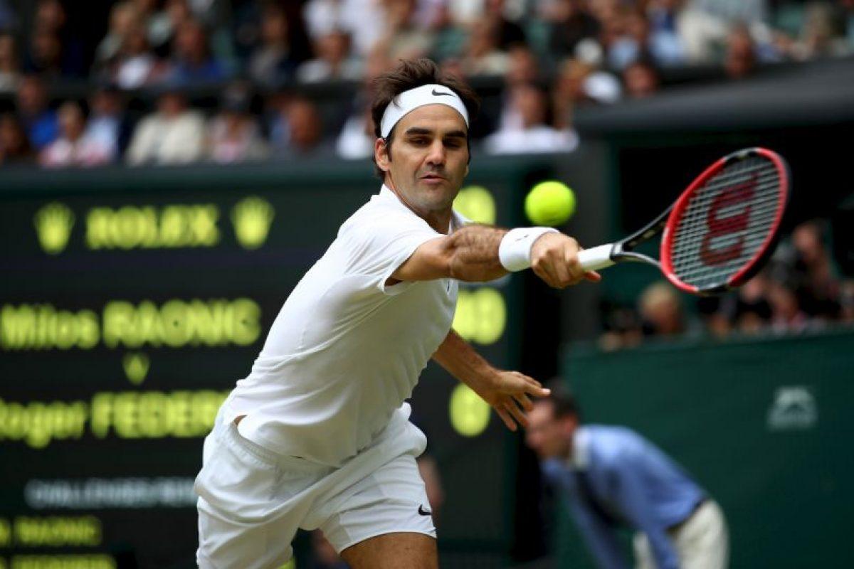 Roger Federer. Se bajó de los Juegos Olímpicos de Rio 2016 por una lesión a la rodilla Foto:Getty Images. Imagen Por: