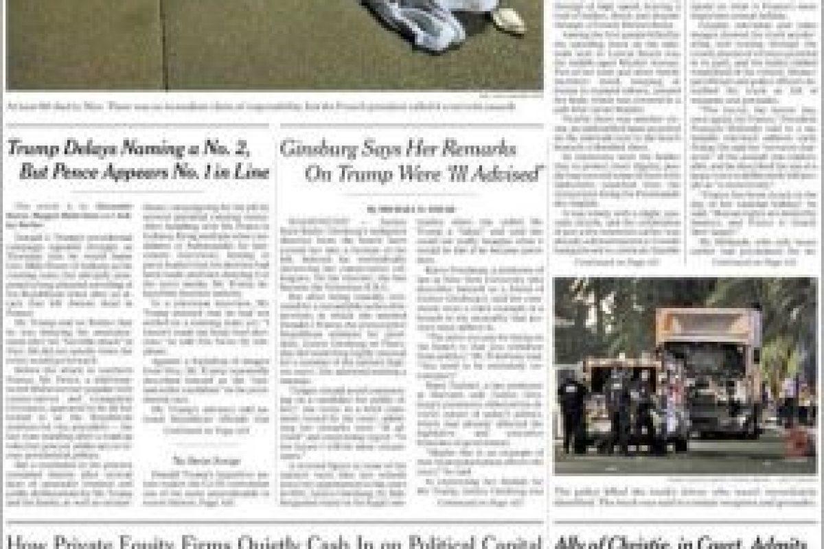 Foto:The New York Times. Imagen Por: