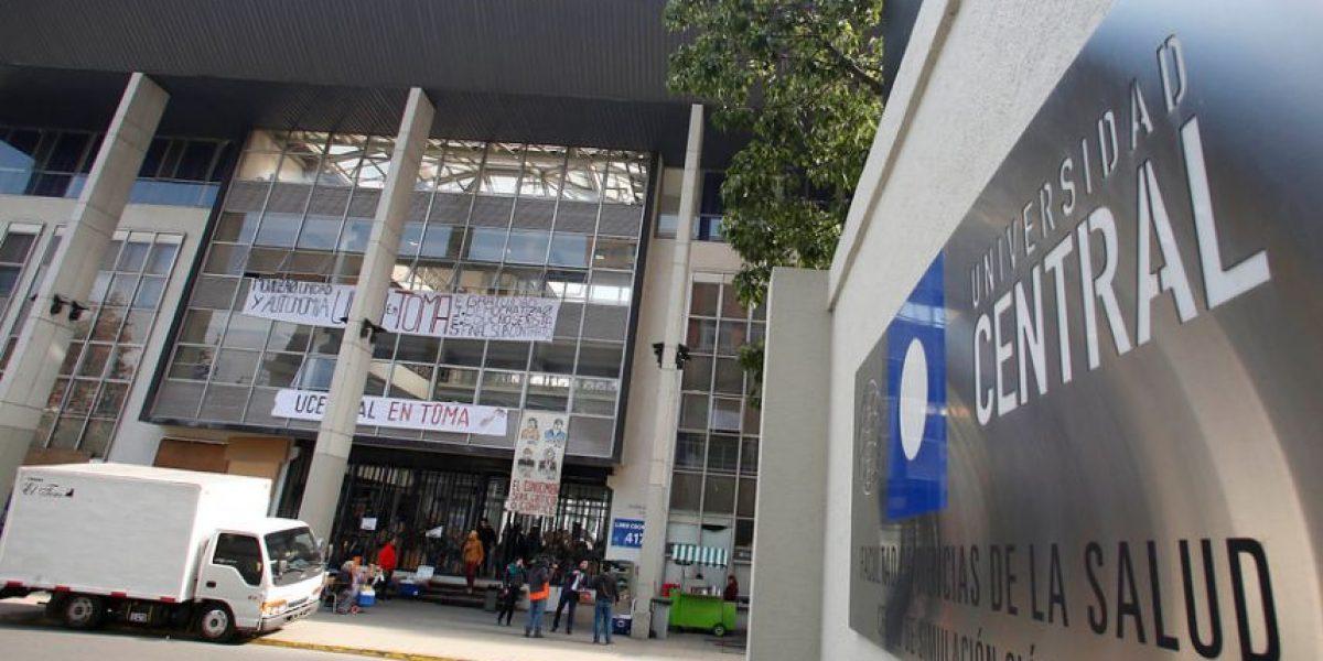 Estudiantes de la U. Central llegan a acuerdo con autoridades y deponen toma