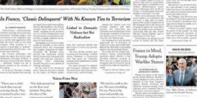 Impacto mundial: las portadas de los medios recogen el intento de golpe de Estado en Turquía