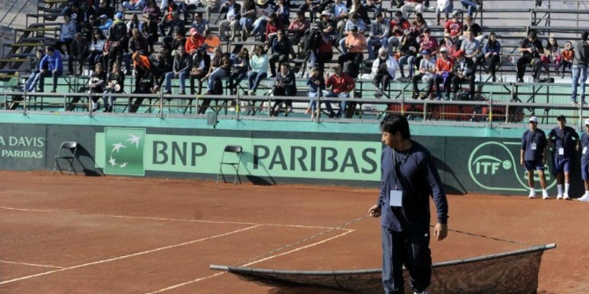 Cancha de Iquique fue autorizada para jugar la serie de Davis entre Chile y Colombia