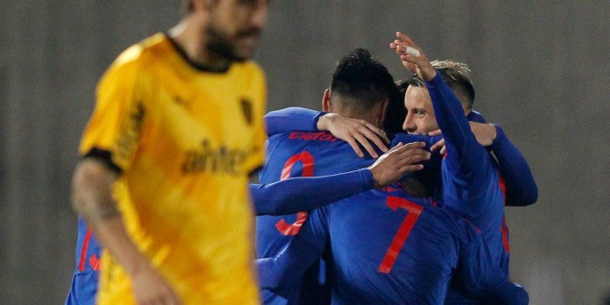Así vivimos la gran victoria de la U sobre Peñarol en su último amistoso previo al Apertura