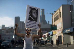 Todo comenzó con el asesinato del joven afroamericano Michael Brown. Foto:Getty Images. Imagen Por: