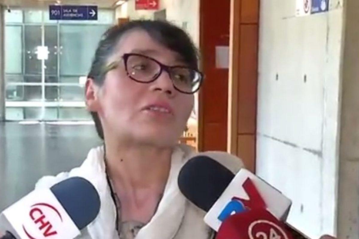 La madre de la víctima Foto:Reproducción / TVN. Imagen Por: