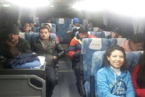 Parte de la delegación altiplánica Foto:Reproducción / Twitter @mincombolivia. Imagen Por: