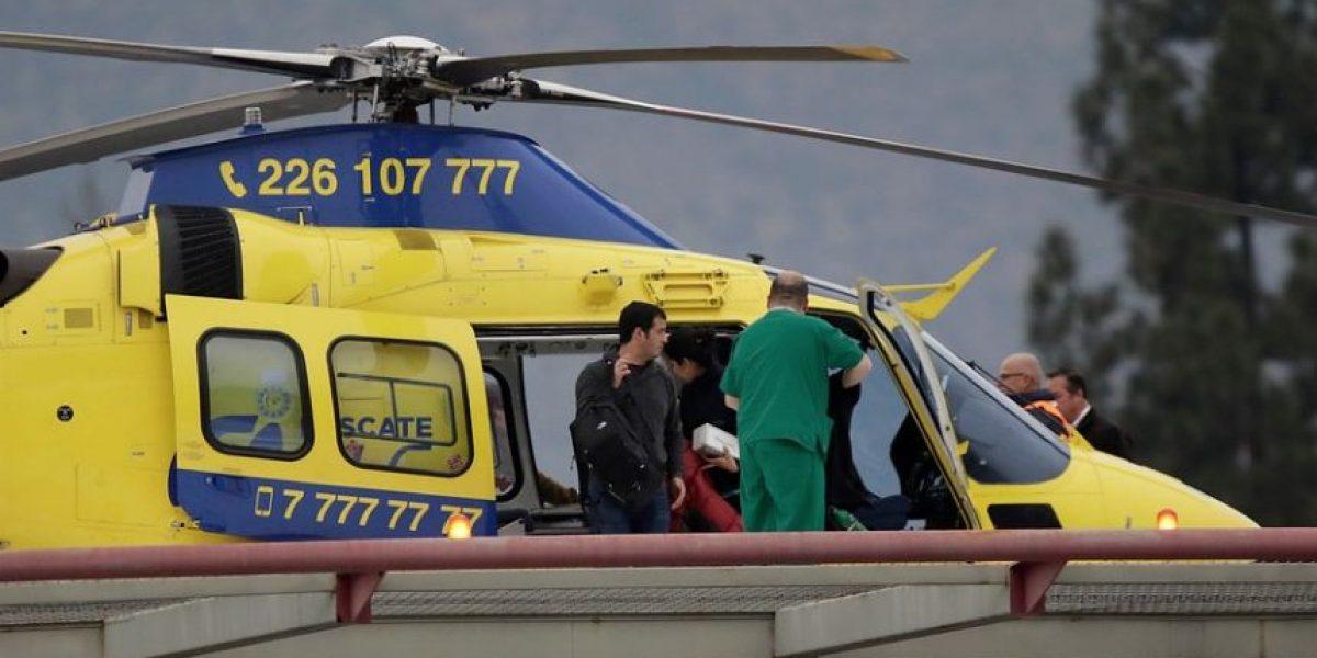 Equipo médico que realizó doble trasplante a Jacinta Zañartu: