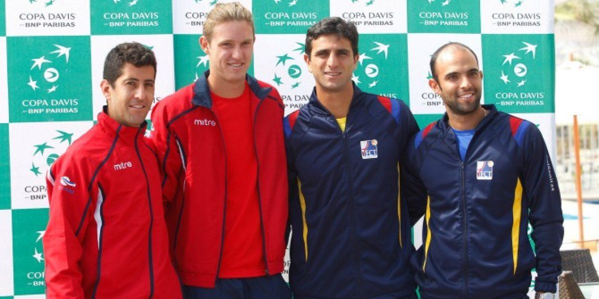 Así vivimos el vibrante triunfo de Chile en dobles ante Colombia en Copa Davis