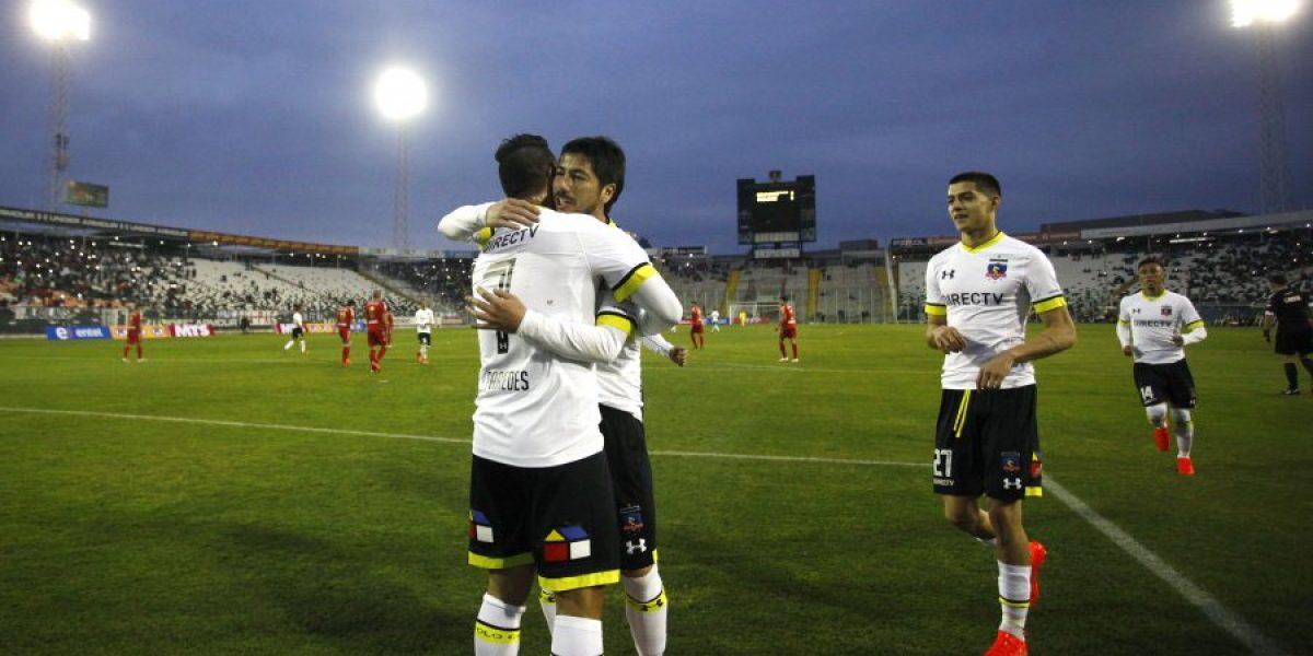 Con dos goles de Paredes, Colo Colo clasificó con lo justo a octavos de Copa Chile