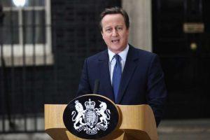Estuvo al frente del Reino Unido del 11 de mayo de 2010 al 13 de julio de 2016. Foto:Getty Images. Imagen Por: