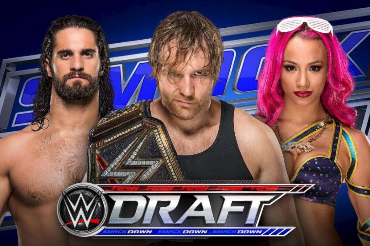 Hasta 71 superestrellas serán sorteadas en el Draft Foto:WWE. Imagen Por: