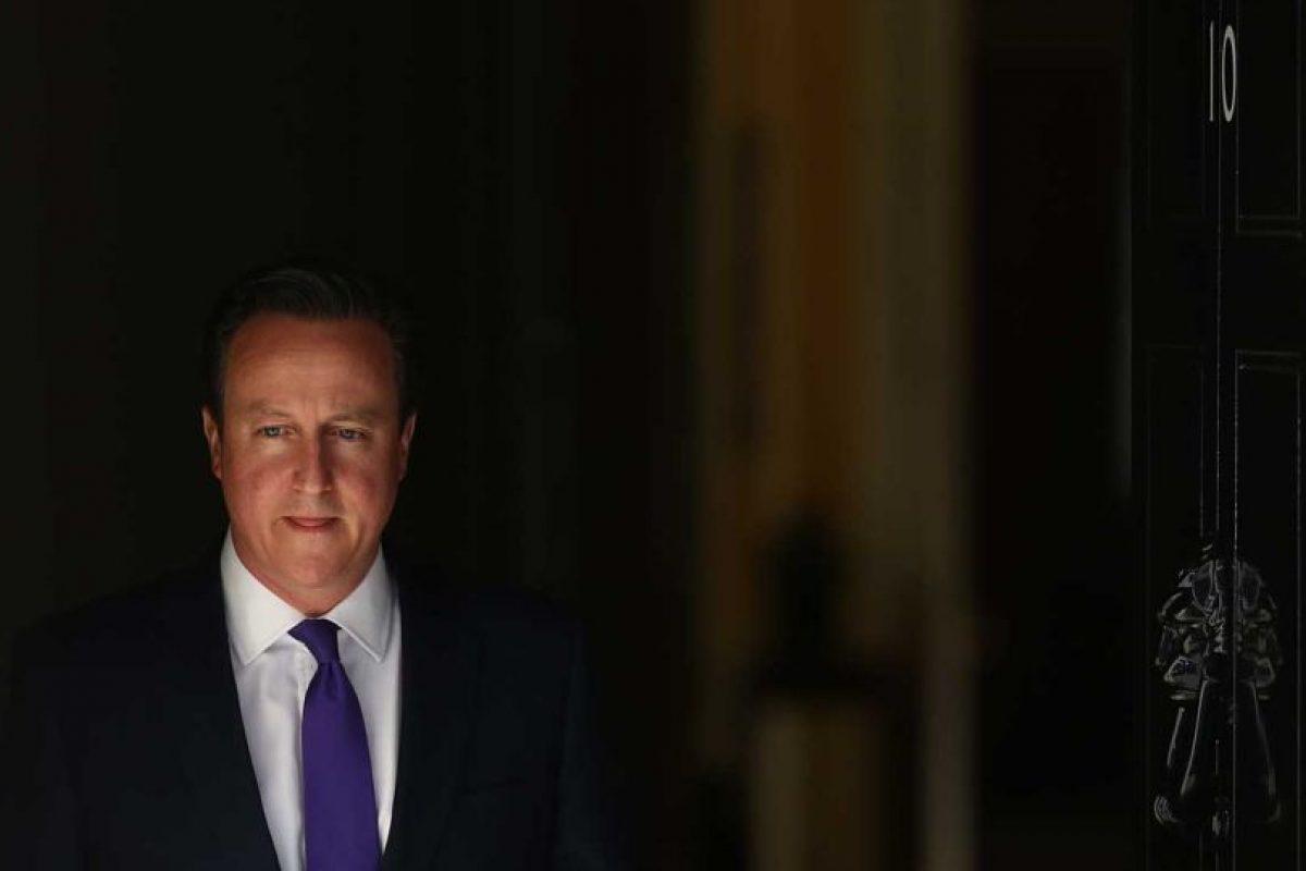 David Cameron es un político británico. Foto:Getty Images. Imagen Por:
